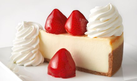 Cheesecake Factory Fresh Strawberry Cheesecake