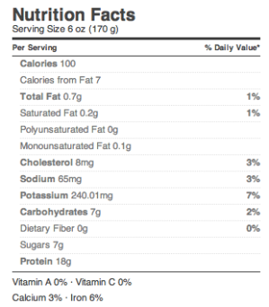 Fage Plain Nonfat Greek Yogurt Nutrition Facts