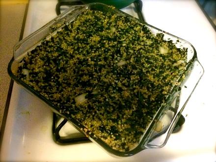 Spinach and Quinoa